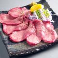 料理メニュー写真仙台名物 牛タン焼き