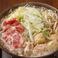 つくば鶏×美明豚・肉肉塩ちゃんこ鍋