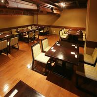 各種ご宴会に◆大人数宴会対応の充実したお席です!
