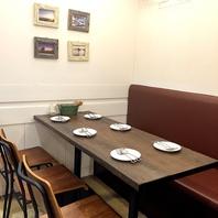 【梅田1分】テーブル席は2~22名様迄まとまって座れる♪