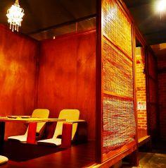 掘りごたつの完全個室!飲み会に大人気席!
