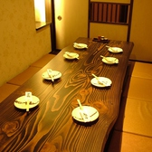 新設された8名様個室10名まで収容可能