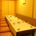 最大16名様までの個室