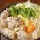 骨付き鶏肉の生姜鍋