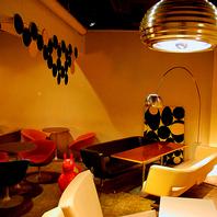 有名デザイナー照明【アルコ】がお店の雰囲気を飾ります