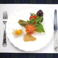 フランス料理を楽しむことも可能(要予約)