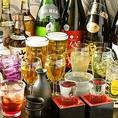飲み放題ドリンクは約500種!老若男女問わずお楽しみ頂ける様、豊富なドリンクをご用意しております♪