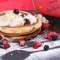 誕生日・記念日・結婚祝いなど…各種お祝いのサプライズにぴったり♪パンケーキプレートご用意できます!お気軽にご相談下さい。