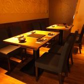 【1階】奥にある雰囲気自慢のテーブル席