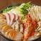 魚介の濃厚あん肝味噌鍋