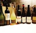 【自然派ワインも充実】和を意識したお店ですが、ワインやパスタなどのメニューも充実しています。特にワインは完全無農薬か減農薬の自然酵母で発酵した、こだわりの身体に優しいワインをご用意していますので、お楽しみに。