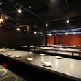 お部屋紹7 30名~50名個室企業宴会にご利用いただける宴会には大変オススメなお席となっております。そのほかの各種宴会にも対応しておりますのでお気軽にお問い合わせください