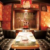 ふわふわソファの豪華個室!デートや友達との飲み会に最適の完全個室です!