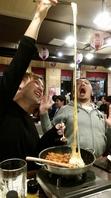 日本一伸び~るチーズタッカルビありますよー