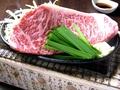 料理メニュー写真牛ロースステーキ鉄板焼