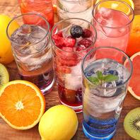 【地域一】単品・宴会共に130種類の飲み放題をご用意♪