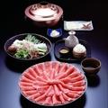 料理メニュー写真鹿児島産黒豚しゃぶしゃぶ食べ放題