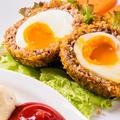 料理メニュー写真【肉の人気メニュー】スコッチエッグ