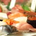 板前の魂がこもった絶品寿司をご堪能下さい