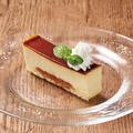 料理メニュー写真クレームブリュレ ムースケーキ