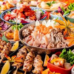 個室居酒屋 東北料理とお酒 奥羽六仙 札幌すすきの店のコース写真
