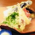 料理メニュー写真天ぷら盛り合わせ(5種類)