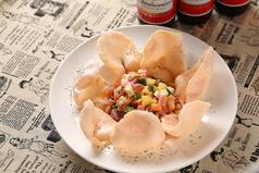 料理メニュー写真宝オリジナルサラダ