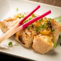 料理メニュー写真鶏むね肉の西京焼き