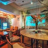 ◆円になって食卓を囲む♪◆円卓席。宴会や家族での食事におすすめ♪
