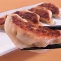 料理メニュー写真桜山餃子(豚・キャベツ・玉ねぎ・ニラ・大葉) 5ヶ
