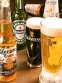 ■各種ビール■500円(税抜)~プレミアムモルツ、コロナ、ハイネケン、ギネス等