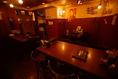 地下12テーブルのスペース。宴会にご利用ください!