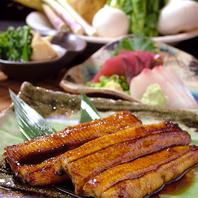 浜松名産の鰻を色々な食べ方で