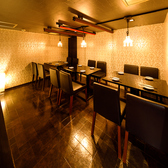 少人数様から団体様まで幅広くご案内可能な個室空間を完備◎プライベートな空間で、当店自慢の絶品料理とお酒をご満喫いただける宴会コースをお楽しみください。