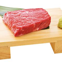料理メニュー写真上赤身ステーキ(約100g)