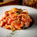 料理メニュー写真昔ながらのナポリタンスパゲッティ
