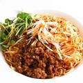 料理メニュー写真中国山椒が薫る汁なし担々麺