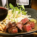料理メニュー写真A5黒毛和牛シャトーブリアンステーキ(130g)