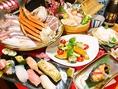 【平家亭のこだわり3】繊細な味が求められる和の料理は、東京の割烹屋などで修業した料理人が作ります。だからこそ生み出される創作料理は必見です。また、日本各地の旨い海鮮も自慢です!