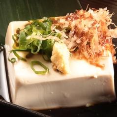 冷奴/ポテトサラダ/白菜キムチ