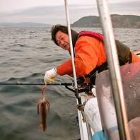 オーナー自ら毎朝漁へ!