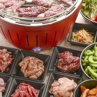 ◆北海道直送の新鮮な食材が楽しめる焼肉ビアガーデン◆