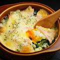 料理メニュー写真ポテトチーズ焼