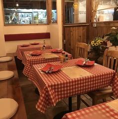 【1名様~】レイアウト自由なテーブル席。人数に応じてお席をご用意いたします!落ち着いた雰囲気の店内は女子会やママ友会、デートにも最適ですよ♪