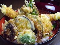 ランチ限定!伝助天丼!穴子寿司御膳も人気です!