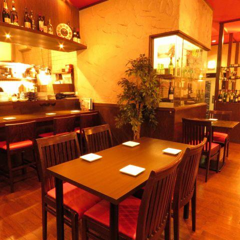 テーブル3名様×6
