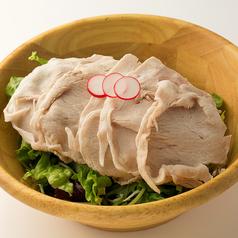 料理メニュー写真上州麦豚のシャブサラダ