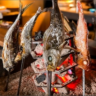 兎兎魯の看板料理!シンプルに楽しむ【原始焼き】