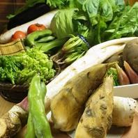 季節ごとの旬の食材を厳選