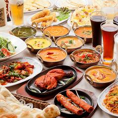 スパイス カフェ ディワリ SPICE CAFE DIWALI 京都 三条河原町店のコース写真